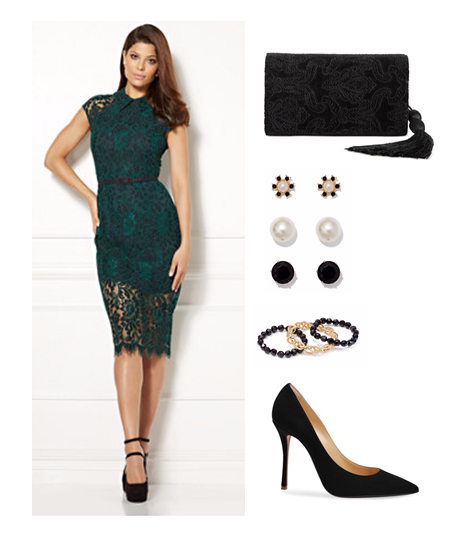 green-lace-dress