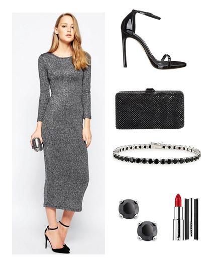 metallic-dress