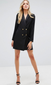 ASOS Tall tux dress