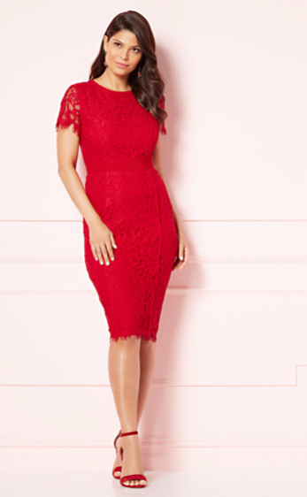 Eva Mendes Romina Sheath Dress