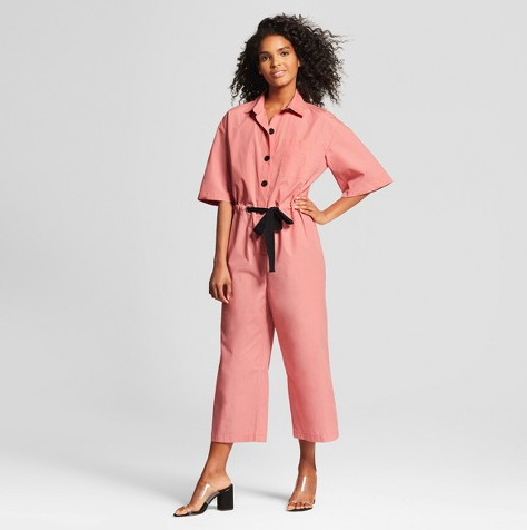Target Who What Wear Pink Jumpsuit