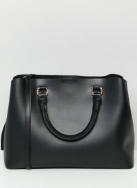 Bershka Shopper Bag in black