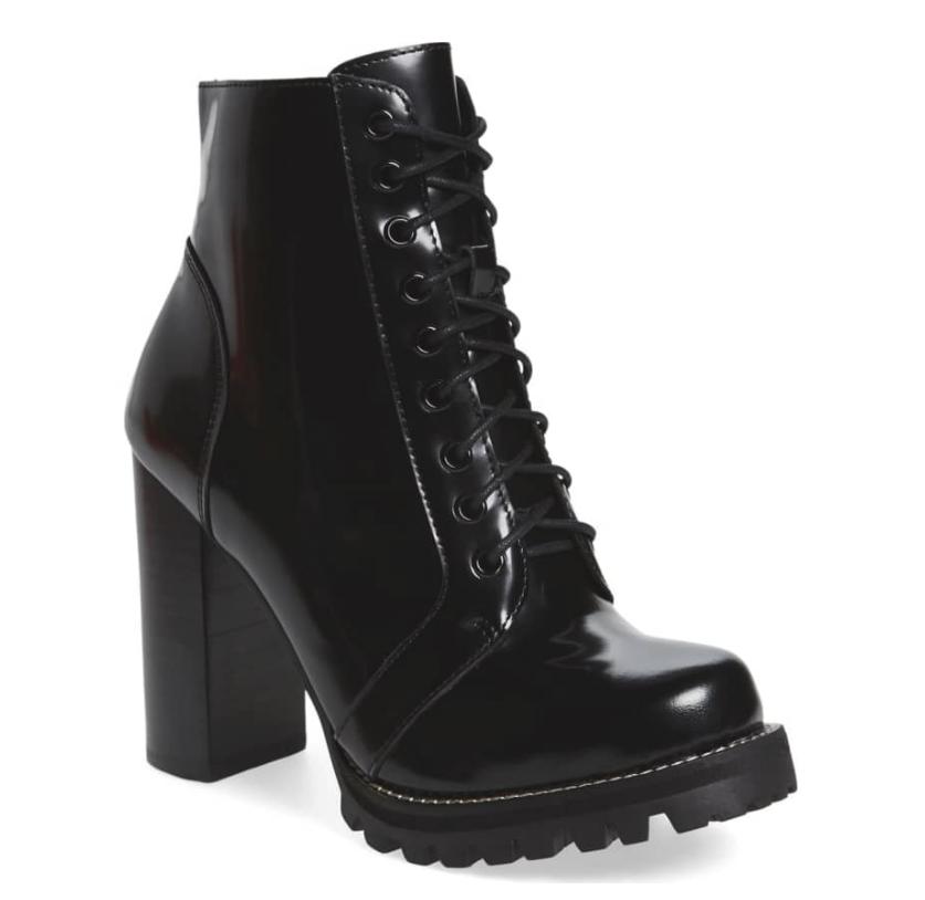 Jeffrey campbel black Combat boots