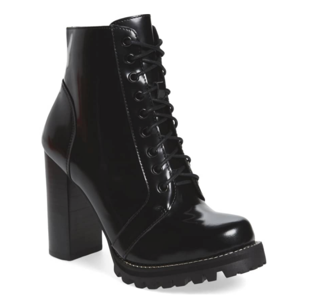 Jeffrey campbel black Combat boots