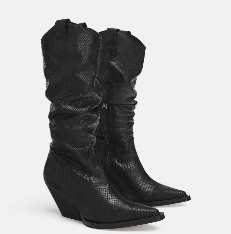 Zara Cowboy boots