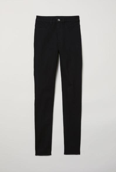 Basic Black Skinny Jeans